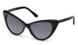 Tom Ford FT 0173 Nikita Sunglasses Sunglasses - O01B Shiny Black