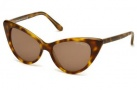 Tom Ford FT 0173 Nikita Sunglasses Sunglasses - O56J Light Brown