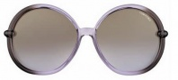 Tom Ford FT 0167 Caithlyn Sunglasses Sunglasses - O50F Dark Brown