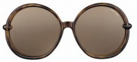 Tom Ford FT 0167 Caithlyn Sunglasses Sunglasses - O55J Havana Green
