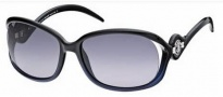 Roberto Cavalli RC576S Sunglasses Sunglasses - O05B Black / Blue