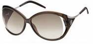 Roberto Cavalli RC573S Sunglasses Sunglasses - O48F Transparent Brown