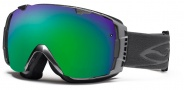 Smith Optics I/O Snow Goggles Goggles - Chrome / Green Sol X Mirror / Extra Blue Sensor Mirror