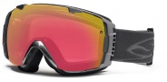 Smith Optics I/O Snow Goggles Goggles - Chrome / Red Sensor Mirror / Extra Platinum Mirror