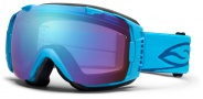 Smith Optics I/O Snow Goggles Goggles - Cyan / Blue Sensor Mirror / Extra Ignitor Mirror