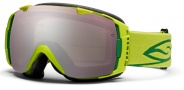 Smith Optics I/O Snow Goggles Goggles - Lime / Ignitor Mirror / Extra Blue Sensor Mirror