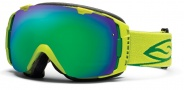 Smith Optics I/O Snow Goggles Goggles - Lime / Green Sol X Mirror / Extra Red Sensor Mirror