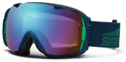 Smith Optics I/O Snow Goggles Goggles - Maritime Camp / Blue Sensor Mirror / Extra Ignitor Mirror