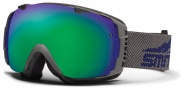Smith Optics I/O Snow Goggles Goggles - Charcoal / Purple Camp / Green Sol X Mirror / Extra Red Sensor Mirror