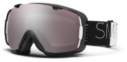 Smith Optics I/O Snow Goggles Goggles - Black / White Wordpress / Ignitor Mirror / Extra Blue Sensor Mirror