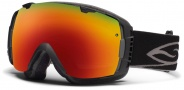 Smith Optics I/O Snow Goggles Goggles - Black / Red Sol X Mirror / Extra Red Sensor Mirror