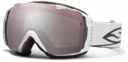 Smith Optics I/O Snow Goggles Goggles - White / Ignitor Mirror / Extra Blue Sensor Mirror