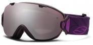 Smith Optics I/OS Snow Goggles Goggles - Shadow Purple Riviera / Ignitor Mirror / Extra Blue Sensor Mirror