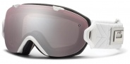 Smith Optics I/OS Snow Goggles Goggles - White Coven / Ignitor Mirror / Extra Blue Sensor Mirror