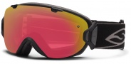 Smith Optics I/OS Snow Goggles Goggles - Black / Red Sensor Mirror / Extra Platinum Mirror