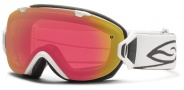 Smith Optics I/OS Snow Goggles Goggles - White / Red Sensor Mirror / Extra Platinum Mirror