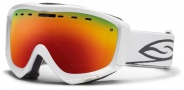 Smith Optics Prophecy Snow Goggles Goggles - White / Red Sol X Mirror