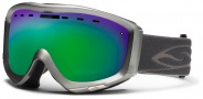 Smith Optics Prophecy Snow Goggles Goggles - Graphite / Green Sol X Mirror
