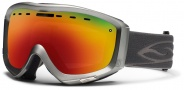 Smith Optics Prophecy Snow Goggles Goggles - Graphite / Red Sol X Mirror
