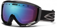 Smith Optics Prophecy Snow Goggles Goggles - Black / Blue Sensor Mirror