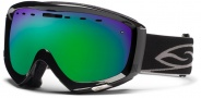 Smith Optics Prophecy Snow Goggles Goggles - Black / Green Sol X Mirror