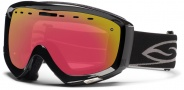Smith Optics Prophecy Snow Goggles Goggles - Black / Red Sensor Mirror