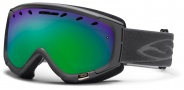 Smith Optics Phenom Snow Goggles Goggles - Graphite / Green Sol X Mirror