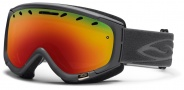 Smith Optics Phenom Snow Goggles Goggles - Graphite / Red Sol X  Mirror