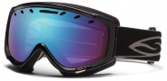 Smith Optics Phenom Snow Goggles Goggles - Black / Blue Sensor Mirror