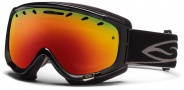 Smith Optics Phenom Snow Goggles Goggles - Black / Red Sol X Mirror