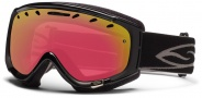 Smith Optics Phenom Snow Goggles Goggles - Black / Red Sensor Mirror