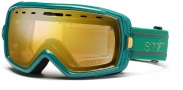 Smith Optics Heiress Snow Goggles Goggles - Emerald Bristol Gold Sensor Mirror 
