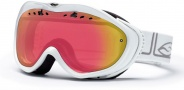 Smith Optics Anthem Snow Goggles Goggles - White Foundation Red Sensor Mirror