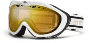 Smith Optics Anthem Snow Goggles Goggles - White / Black Bristol Gold Sensor Mirror