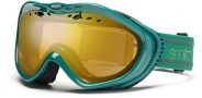 Smith Optics Anthem Snow Goggles Goggles - Emerald Bristol Gold Mirror 