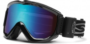 Smith Optics Knowledge OTG Turbo Snow Goggles Goggles - Black / Blue Sensor Mirror
