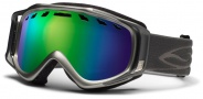Smith Optics Stance Snow Goggles Goggles - Graphite / Green Sol X Mirror / Extra Yellow Lens