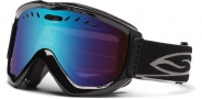 Smith Optics Knowledge OTG Snow Goggles Goggles - Black / Blue Sensor Mirror