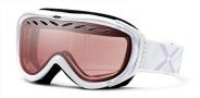 Smith Optics Transit Graphic Snow Goggles Goggles - White Lavendar Twill / Ignitor Mirror