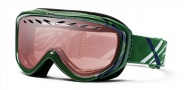 Smith Optics Transit Graphic Snow Goggles Goggles - Heritage Green Twill / Ignitor Mirror