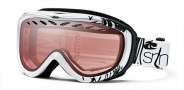 Smith Optics Transit Graphic Snow Goggles Goggles - Black - White Gesture / Ignitor Mirror