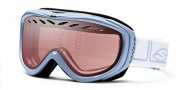 Smith Optics Transit Pro Snow Goggles Goggles - Petal Blue Foundation / Ignitor Mirror