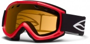 Smith Optics Cascade Snow Goggles Goggles - Fire / Gold Lite