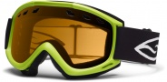 Smith Optics Cascade Snow Goggles Goggles - Lime / Gold Lite