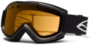 Smith Optics Cascade Snow Goggles Goggles - Black / Gold Lite