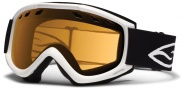 Smith Optics Cascade Snow Goggles Goggles - White / Gold Lite