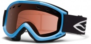Smith Optics Cascade Snow Goggles Goggles - Cyan / RC36