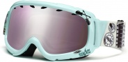 Smith Optics Gambler Graphic Junior Snow Goggles - Mint Shredmaster Igniter Mirror