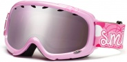 Smith Optics Gambler Graphic Junior Snow Goggles - Pink Pop Igniter Mirror