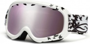 Smith Optics Gambler Graphic Junior Snow Goggles - White Fallen Ignitor Mirror